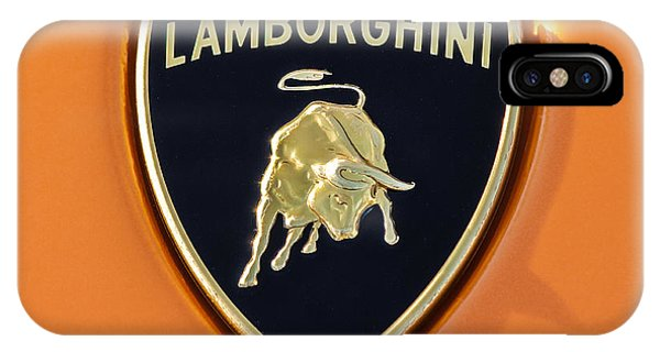 Lamborghini Emblem -0525c55 IPhone Case