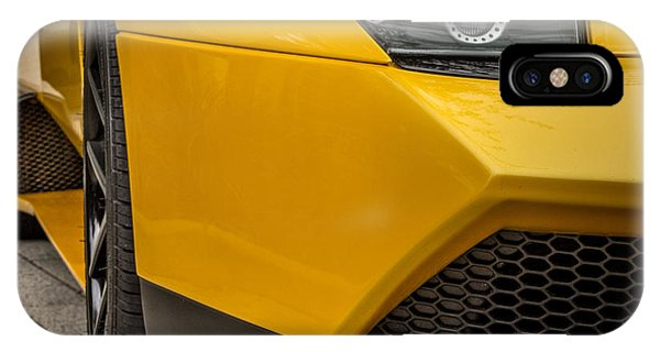 Lamborghini - Front View IPhone Case