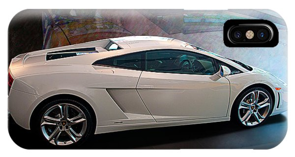 Lamborghini Gallardo Lp550-2 Side View IPhone Case