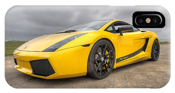 Lamborghini Gallardo Superleggera IPhone Case
