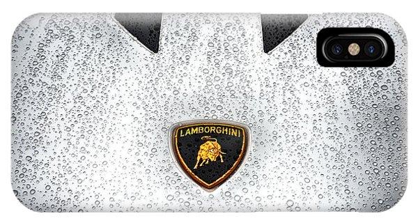 Lamborghini Performante Hood In Hdr IPhone Case