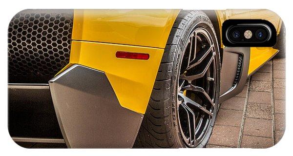 Lamborghini - Side View IPhone Case