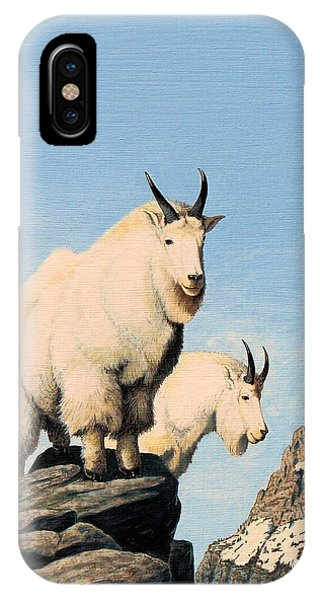 Lamoille Goats IPhone Case