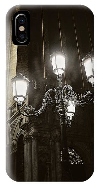 Lamp Light St Mark's Square IPhone Case