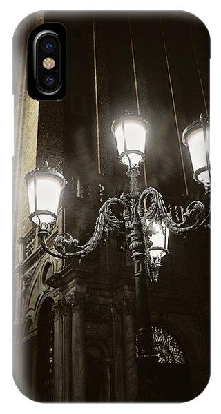 Lamp Light St Mark's Square IPhone Case