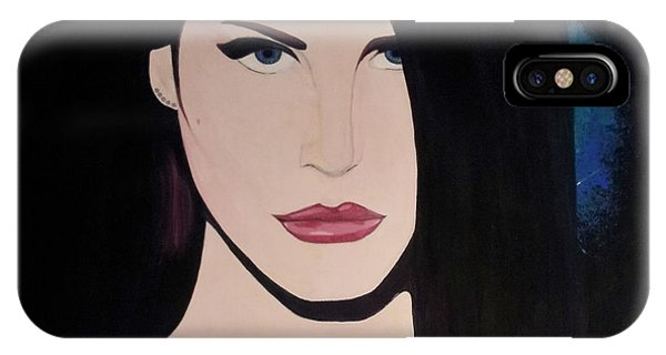 Lana Del Rey Blue Eyes IPhone Case