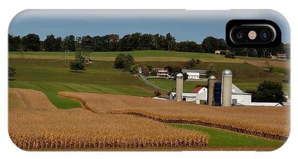 Amish Country iPhone Case - Lancaster County Farm by William Jobes