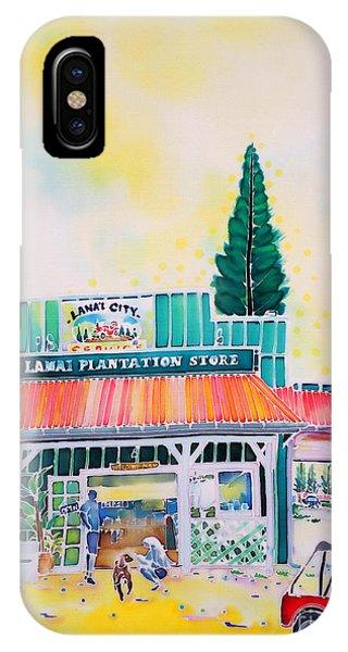 Lanai City IPhone Case