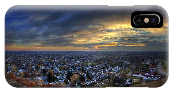 Lancaster Ohio Panorama IPhone Case