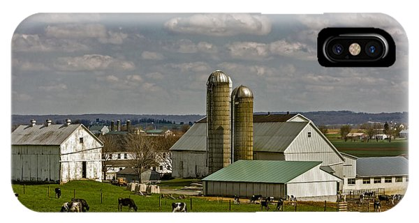 Amish Country iPhone Case - Lancaster Pennsylvania Farms by Susan Candelario