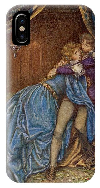 Lancelot And Guinevere  Together Phone Case by Mary Evans Picture Library