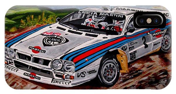 Lancia 037 Phone Case by Jose Mendez