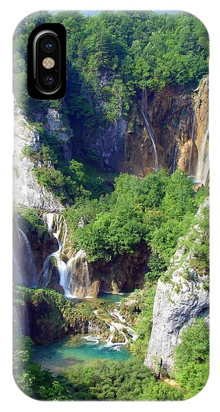 Land Of Falling Lakes IPhone Case