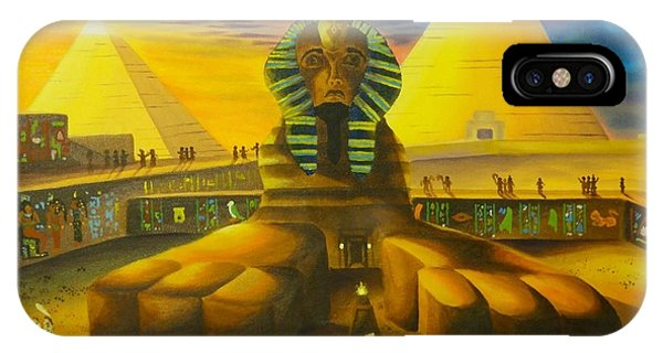 Land Of Pharaohs IPhone Case
