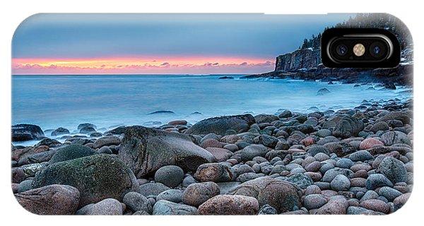 New England Coast iPhone Case - Land Of Sunrise by Evelina Kremsdorf