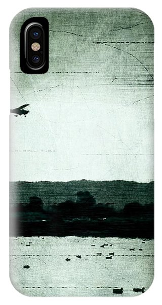 Landing At Sunset IPhone Case