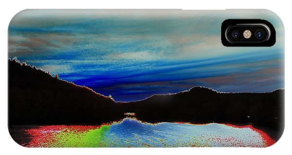 Landscape Abstract IPhone Case