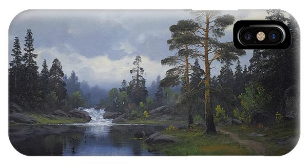 Landscape From Norway IPhone Case