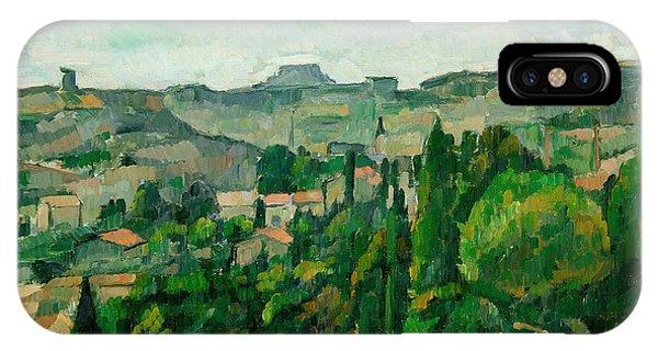 Neighborhood iPhone Case - Landscape In The Ile-de-france by Paul Cezanne