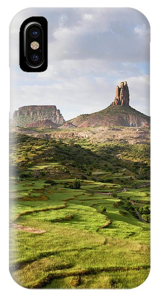 East Africa iPhone Case - Landscape In Tigray, Northern Ethiopia by Martin Zwick
