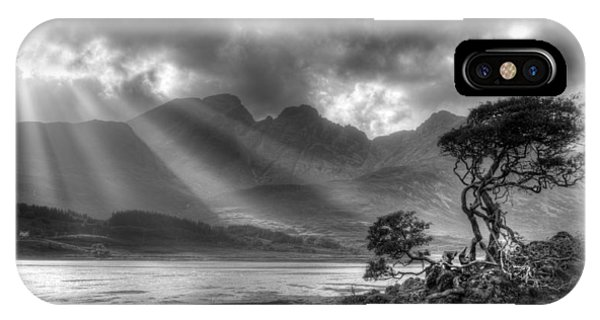 IPhone Case featuring the photograph Landscape Scotland by Michalakis Ppalis