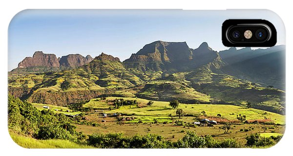 East Africa iPhone Case - Landscape Near The Escarpment by Martin Zwick