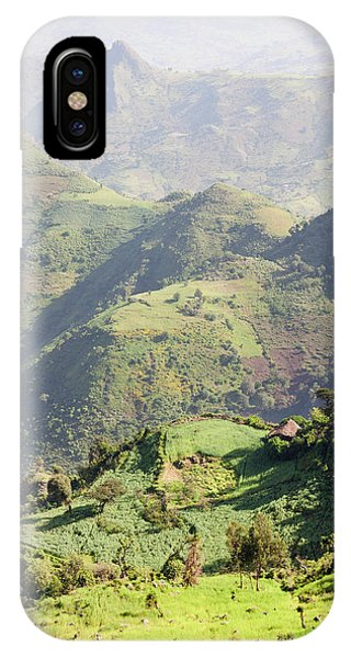 East Africa iPhone Case - Landscape North Of Gondar, Ethiopia by Martin Zwick