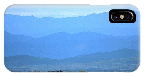 landscape of North CA IPhone Case