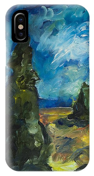 Emerald Spires IPhone Case