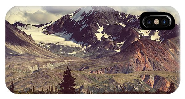 Clear iPhone Case - Landscapes On Denali Highway.alaska by Galyna Andrushko