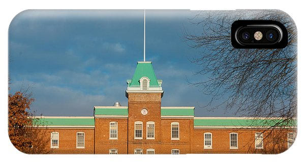 Lane Hall At Virginia Tech IPhone Case