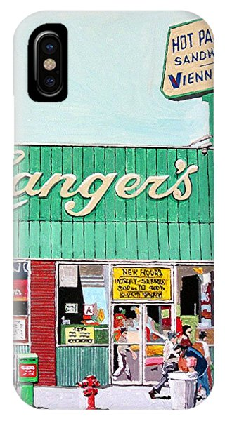 iPhone Case - Langer's In Los Angeles by Paul Guyer