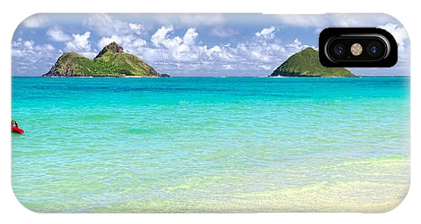 Lanikai Beach Paradise 3 To 1 Aspect Ratio IPhone Case