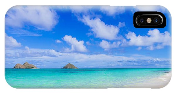 Lanikai Beach Tranquility 3 To 1 Aspect Ratio IPhone Case
