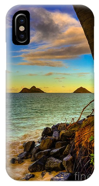 Lanikai Island Sunset IPhone Case