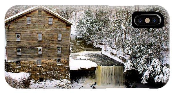 Lanterman's Mill In Winter IPhone Case