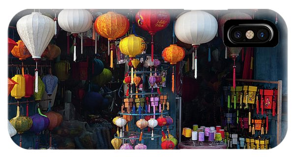 Lantern Shop In Hoi An Ancient Town Phone Case by Keren Su
