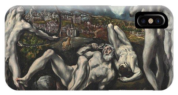 Struggle iPhone Case - Laocoon by Domenico Theotocopuli El Greco