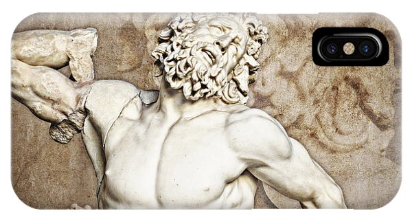 IPhone Case featuring the photograph Laocoon by Joe Winkler
