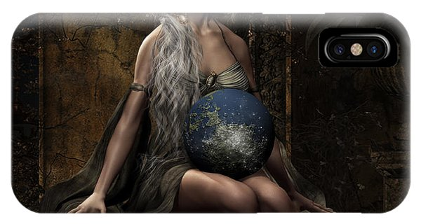 Destiny iPhone Case - Lap Of The Gods by Shanina Conway