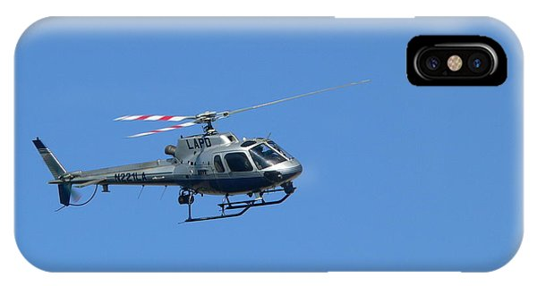 Lapd Helicopter IPhone Case