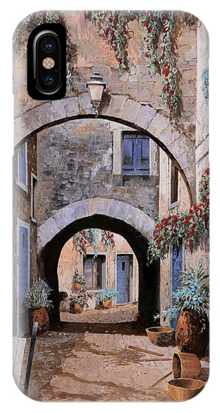 Arched iPhone Case - L'arco Del Diavolo by Guido Borelli