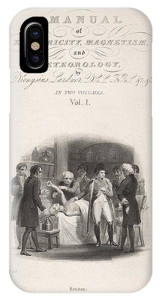Lardner's Manual (1841) IPhone Case