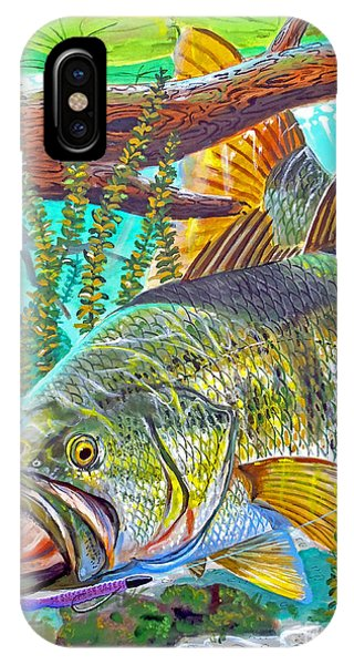 Largemouth Bass IPhone Case