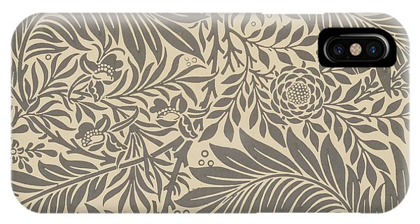Repeat iPhone Case - Larkspur Wallpaper Design by William Morris