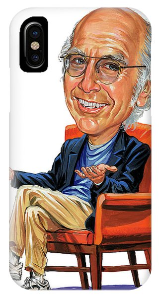 Larry David Phone Case by Art