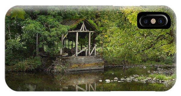 Larwood Covered Bridge Park IPhone Case