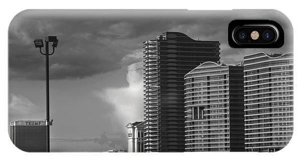 Las Vegas Black N White IPhone Case