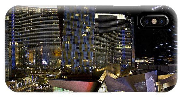 Las Vegas City Center IPhone Case