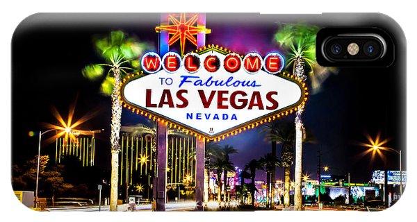 Las Vegas Sign IPhone Case